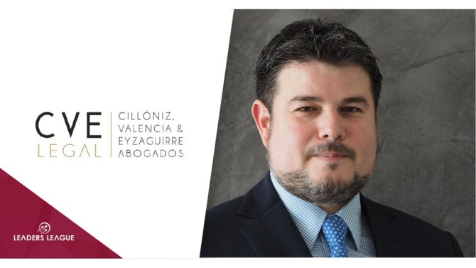 Peruvian natural resources and environmental law-focused firm Cillóniz Valencia & Eyzaguirre Abogados, has appointed Oscar Eyzaguirre as a new partner, effective May.