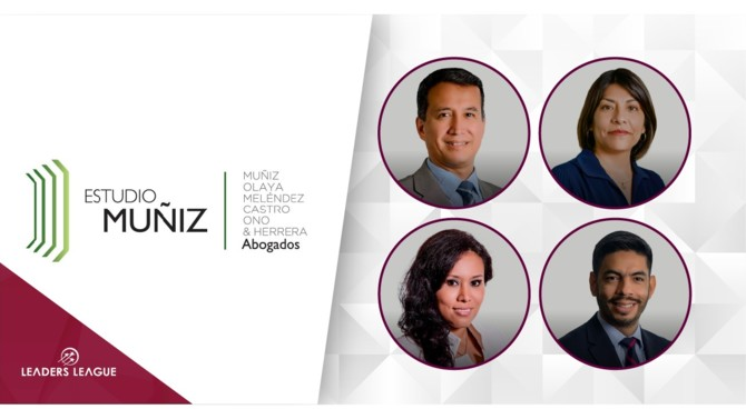Peruvian full-service law firm Estudio Muñiz promoted four new senior partners to further strengthen its range of practices.