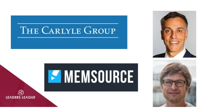 The Carlyle Group has acquired a majority stake in Czech Republic-headquartered language translation software provider Memsource.