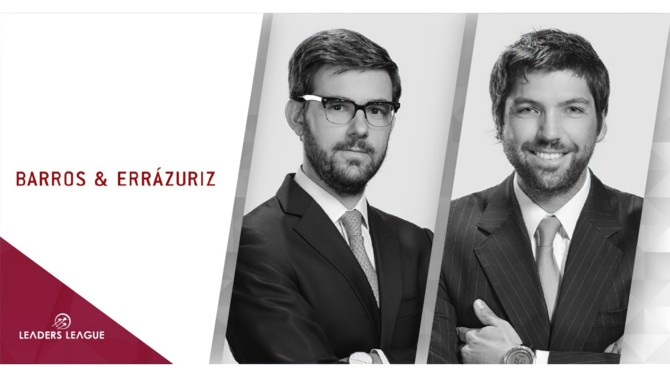 Barros & Errázuriz has elected two senior associates to partners, Enrique Barros, of the financing and infrastructure practice, and Vicente Cordero, a member of the firm's M&A/corporate practice. These moves bring the partner count to 25 .