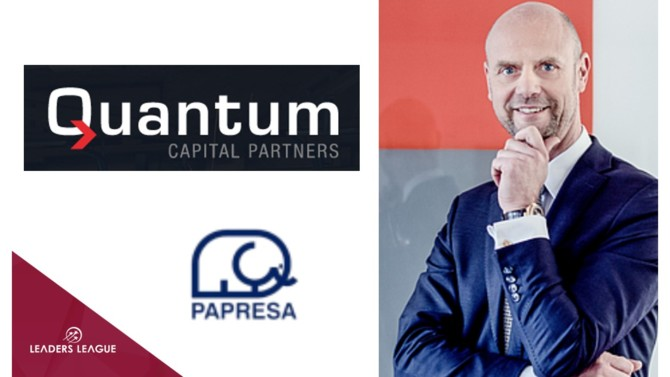 German industrial investor Quantum Group has acquired Spanish newsprint producer Papresa.