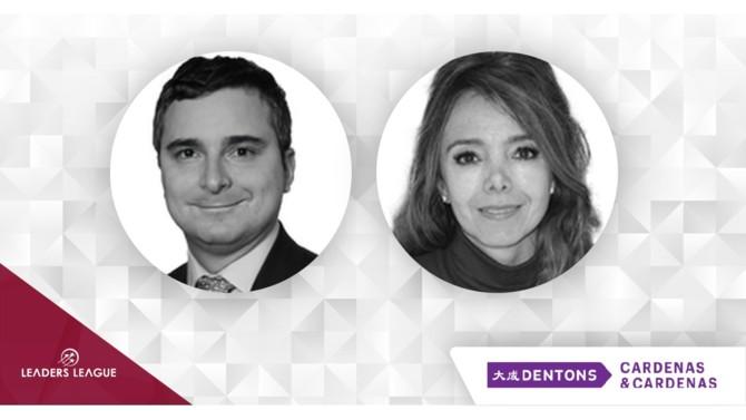 Dentons Cardenas & Cardenas in Colombia has appointed Alejandra Bonilla and Pablo Jaramillo as partners.