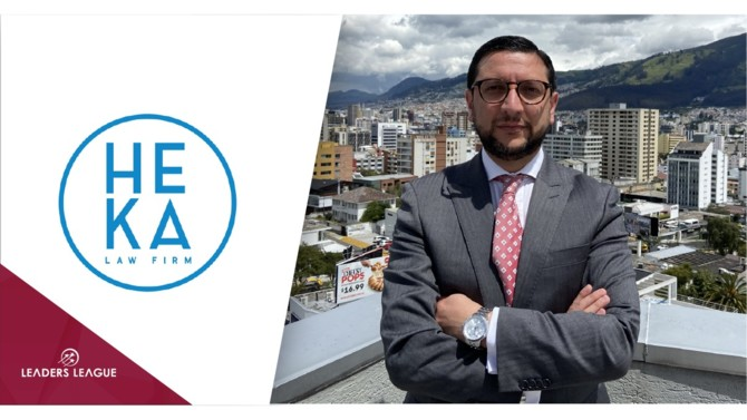 Ecuadorian law firm Heka has added José Manuel Albornoz as a new partner in its finance and tax practice. He is one of the most experienced professionals in the country in tax, financial and accounting matters, bringing a new focus to the firm.