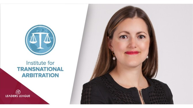 Montserrat Manzano, a partner at Mexican law firm Von Wobeser y Sierra, has been named the new chair of the Americas Initiative at the Institute for Transnational Arbitration (ITA), effective July 22nd.