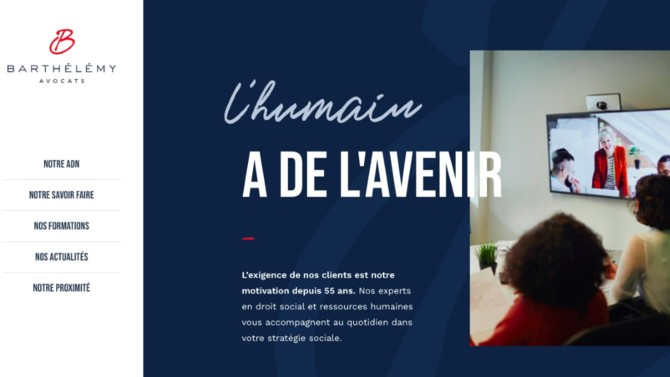 Le cabinet Barthélémy Avocats lance son nouveau site internet totalement refondu.