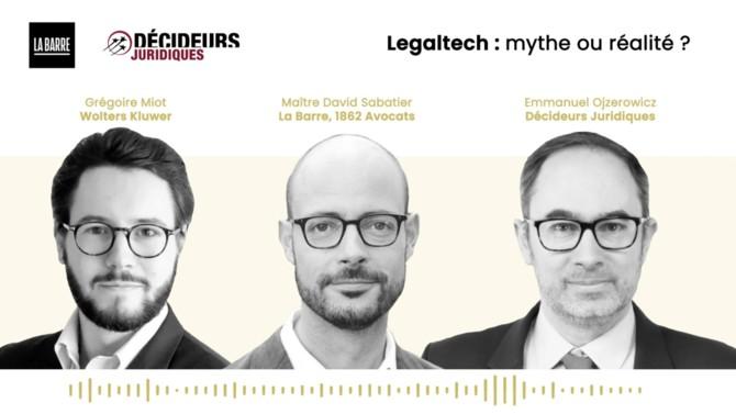 Legaltech : découvrez le podcast « La Barre », réalisé par David Sabatier, avocats associé chez 1862 Avocats en partenariat avec Décideurs Magazine, groupe Leaders League.