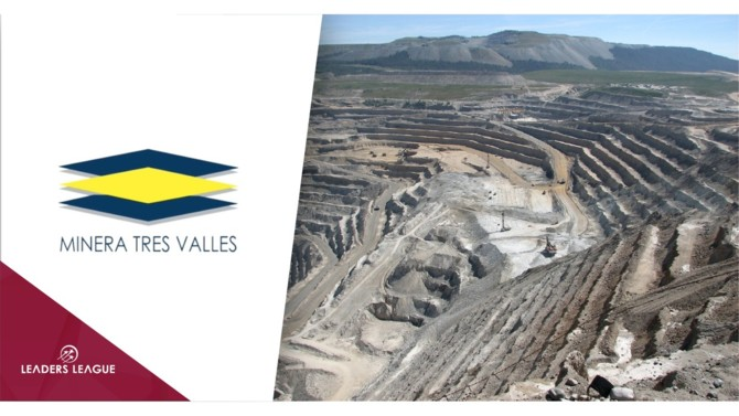 Chilean copper mining company Minera Tres Valles has secured a $45 million financing that it will use for development and expansion.