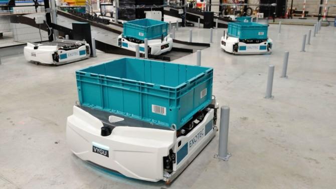 Exotec, entreprise française basée à Croix, près de Lille, et spécialisée dans les robots d'entrepôts annonce avoir levé 90 millions de dollars (près de 77 millions d'euros) afin de renforcer sa croissance à l'international.