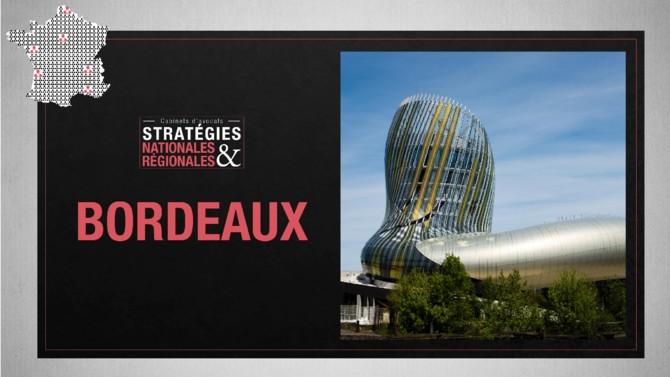 Contrairement à son surnom, Bordeaux se développe et s'organise. Eldorado touristique et lieu de vie plébiscité par ses habitants, la ville attire également de nouveaux entrepreneurs français et étrangers, et par là même se transforme tout comme sa région et l'activité des avocats qui y exercent.