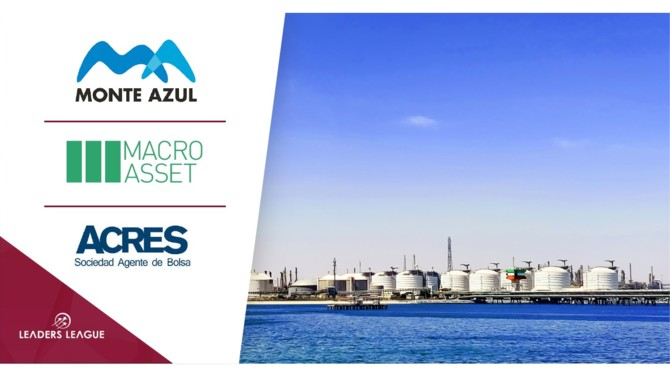 Monte Azul Sur, the hydrocarbons logistics arm of Corporación Monte Azul, has made a successful $12 million bond offering.