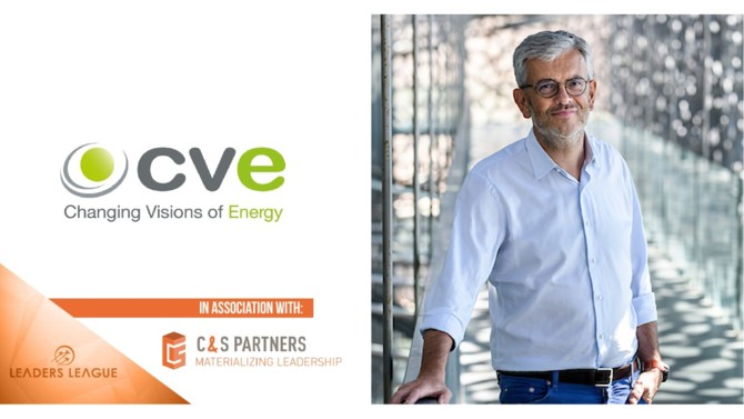 Arnaud Real del Sarte, a veteran of the oil industry and now a partner at renewable energy company CVE, answers Leaders League's questions about the bridges to be built between these two industries.