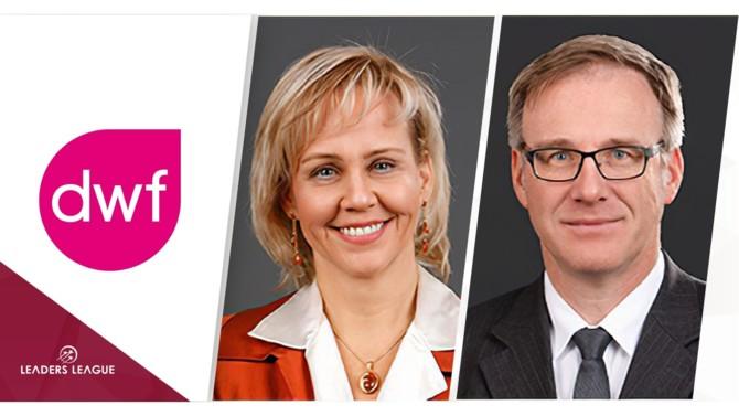 Partners Bernd Borgmann and Eva Einfeldt have left DLA Piper to join DWF.