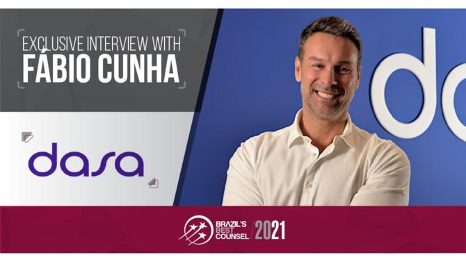 Fábio Cunha is General Counsel of DASA, Latin America's leading medical diagnostics company. In this interview, he discusses DASA's key role in testing the COVAXX's UB-612 vaccine in Brazil, the challenges of heading the legal department of a world-leading medical diagnostics company and the main legal and regulatory impacts of the pandemic on the Brazilian healthcare sector.