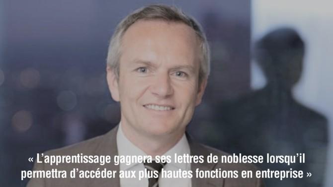 Après avoir dirigé le centre de formation des apprentis (CFA) d'EDF dédié aux métiers de l'énergie, Yann Bouvier coordonne désormais les actions de la Fondation innovations pour les apprentissages (Fipa), et a publié en avril 2020 un guide consacré aux CFA internes.