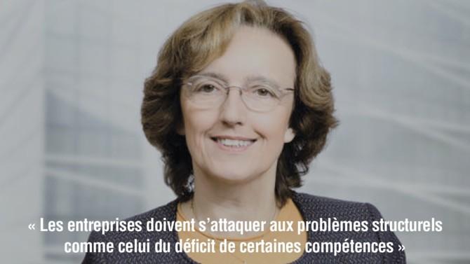 Attirer et retenir les jeunes talents ? Un défi de taille que Saint-Gobain compte relever en misant sur la formation et l'innovation comme l'explique Claire Pedini, la directrice générale adjointe du groupe.