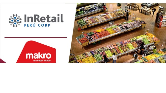 Peruvian retail group InRetail Perú Corp has announced its acquisition of 100% of Makro Supermayorista, part of SHV Group, for $360 million, increasing the company's market share in Peru's retail segment to 12%.