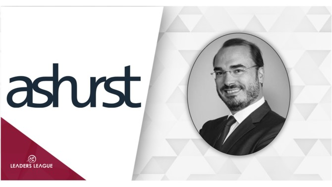 Ashurst has appointed its Spanish office's managing partner, Jorge Vázquez, as a new member of its global executive committee. He is the first Spaniard to join the firm's global governing body.