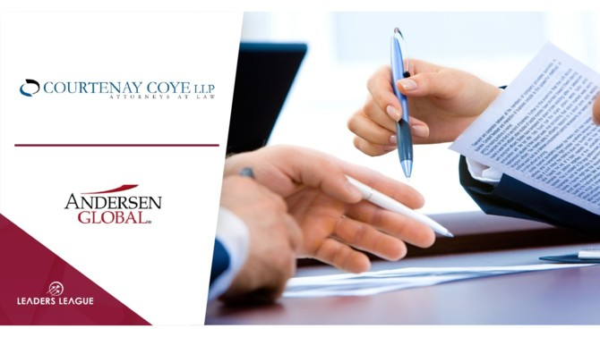 Andersen Global, the US-headquartered international association of tax and legal firms, has entered into a collaboration agreement with Belizean law firm Courtenay Coye.