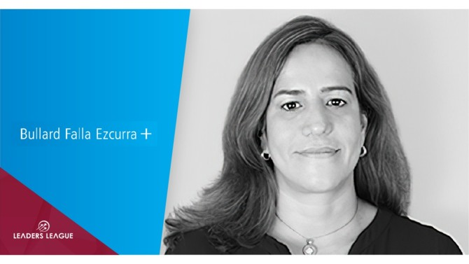 Bullard Falla Ezcurra Abogados has announced the promotion of senior associate Lucía Villarán, who becomes the firm's fifth partner, and who is focused on antitrust and compliance.