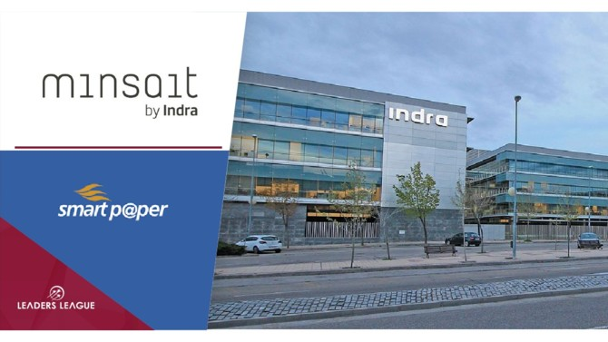 Minsait, Indra's information technology unit, has acquired 70% of the Italian company SmartPaper, which specializes in digital document management solutions and services.