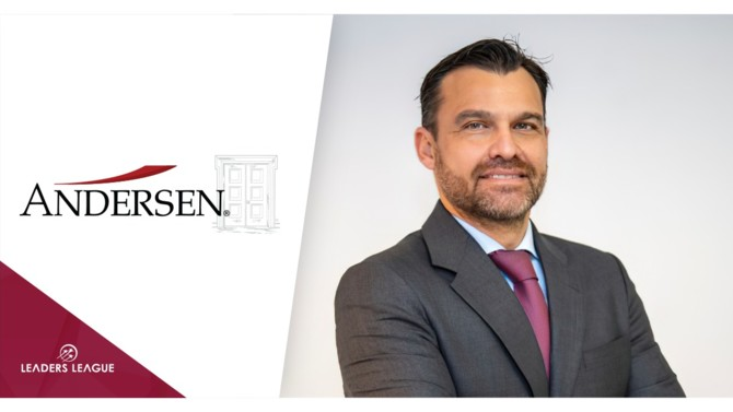 Andersen, headed in Spain by José Vicente Morote and Íñigo Rodríguez-Sastre, has signed the former managing partner of the Valencia office of DWF-RCD, Borja de Gabriel, as a new tax partner in their Valencia office.