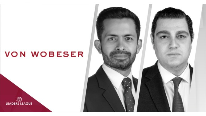 Von Wobeser y Sierra has announced the growth of its team with the appointment of two partners and five counsel with complementary areas of expertise, furthering the firm's full-service approach to better serve its clients.