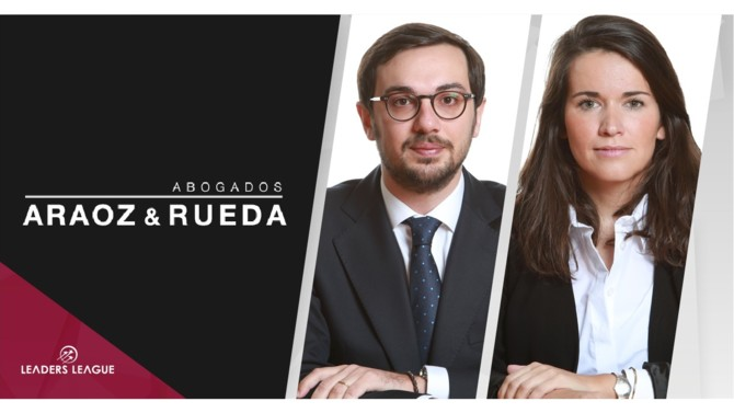 Spanish law firm Araoz & Rueda has promoted Clara Mañoso and Guillermo Bueno to partners for the labor and corporate department respectively.
