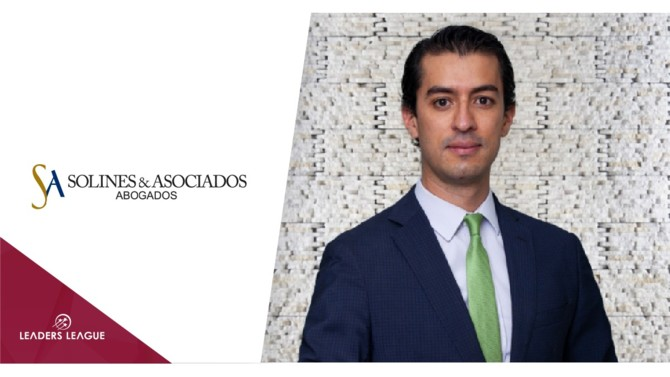 Ecuadorian law firm Solines & Asociados has announced the promotion of Diego Beltrán Bastides to partner, and who heads the firm's digital, environmental and constitutional law practices.