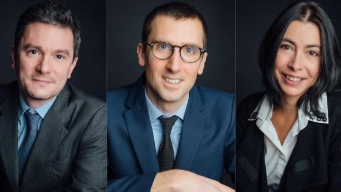 Guillaume Ansaloni, Gautier Chavanet et Marie-Cécile Rieu lancent leur structure consacrée au financement.
