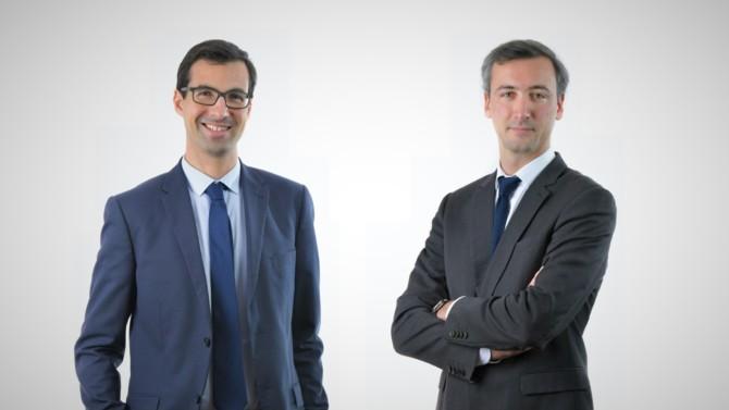 Cyril Delcombel et Clément Nourrisson accèdent au rang d'associés au sein du bureau de Lyon.