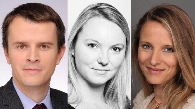 Thibault Jézéquel et Marie Waechter intègrent le bureau parisien du cabinet, Céline Moille celui de Lyon.