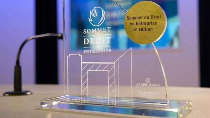 Les noms des équipes gagnantes des trophées d'or de la dernière édition du Sommet du Droit en Entreprise ont tous été dévoilés. Parmi eux, Air France, Valeo, Société générale, ManoMano…