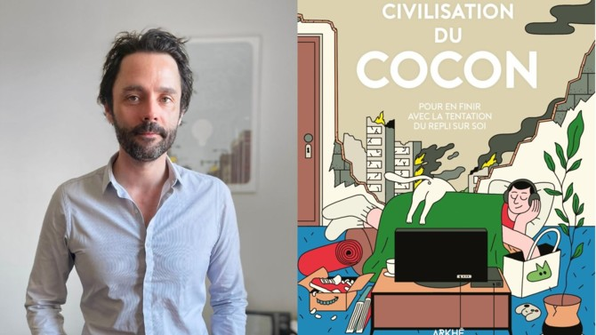 Dans La civilisation du cocon, Vincent Cocquebert analyse un nouveau phénomène de société : la tendance à vivre enfermé dans sa zone de confort et à fuir la réalité. Loin du cocooning généralisé, ce nouveau mode de vie pourrait annoncer une civilisation effrayante…