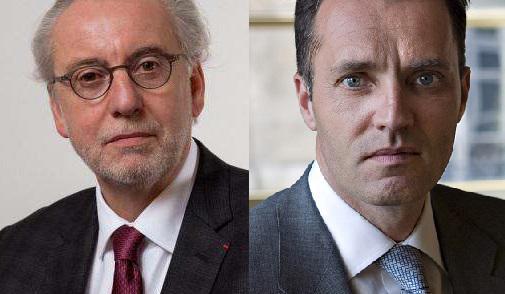 Pascal Eydoux, président nouvellement élu du Conseil national des barreaux, et Laurent Martinet, vice-bâtonnier de l'ordre des avocats de Paris, font front commun.