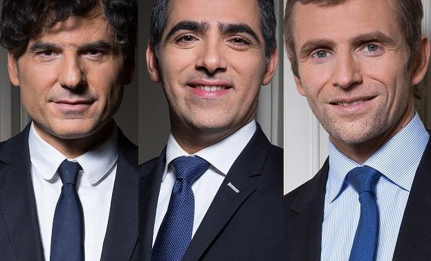 Édouard Clément, Éric Kopelman et Marc-David Seletzky ouvrent leur boutique dédiée au soutien des entreprises.