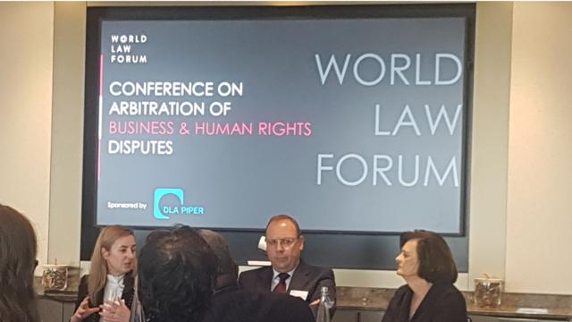 Event Insight: Cherie Blair, Lord Goldsmith Speak at World Law Forum Conference on Arbitration and Human Rights