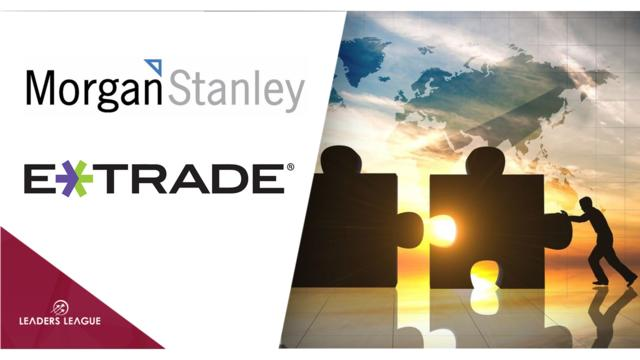Morgan Stanley buys E*Trade for $13bn