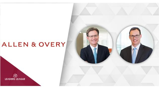 Allen & Overy hires two white-collar crime partners in D.C.