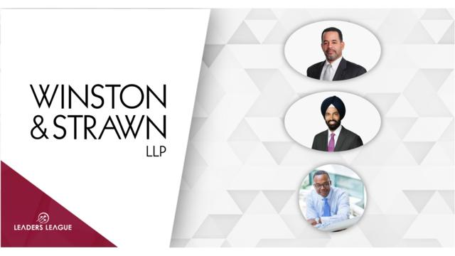 Winston & Strawn hires three healthcare partners in D.C.
