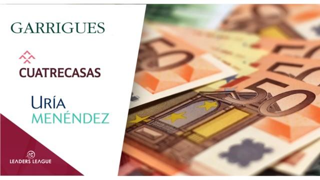Nine of Spain's ten biggest law firms increased revenue last year