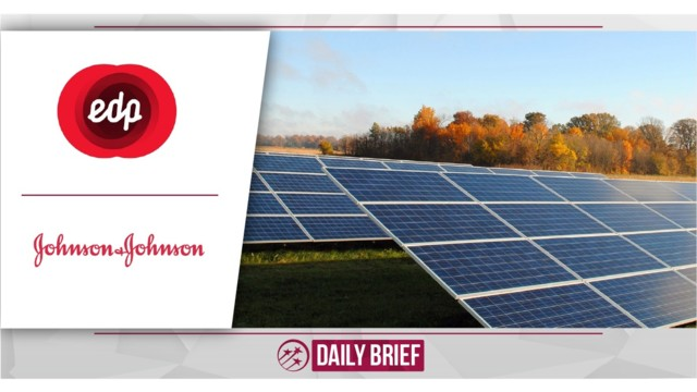 Johnson & Johnson Inaugurates Solar Power Plant In Brazil In Partnership With EDP Brasil