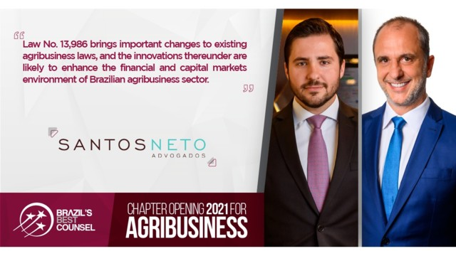 Brazil's Best Counsel 2021 - Chapter Opening: Agribusiness