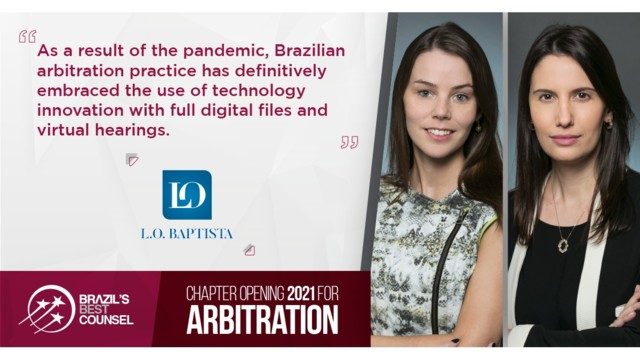 Brazil's Best Counsel 2021 - Chapter Opening: Arbitration