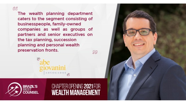 Brazil's Best Counsel 2021 - Chapter Opening: Wealth Management