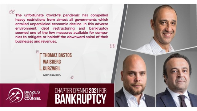 Brazil's Best Counsel 2021 - Chapter Opening: Bankruptcy