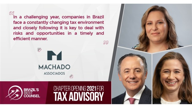 Brazil's Best Counsel 2021 - Chapter Opening: Tax: Advisory
