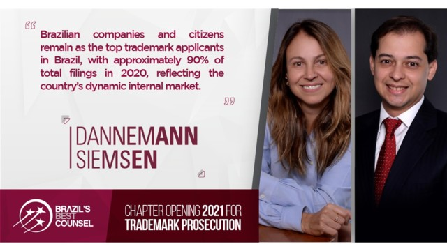 Brazil's Best Counsel 2021 - Chapter Opening: Trademark Prosecution