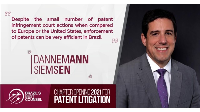 Brazil's Best Counsel 2021 - Chapter Opening - Patent Litigation