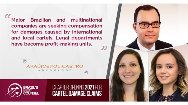 Brazil's Best Counsel 2021 - Chapter Opening: Cartel Damage Claims