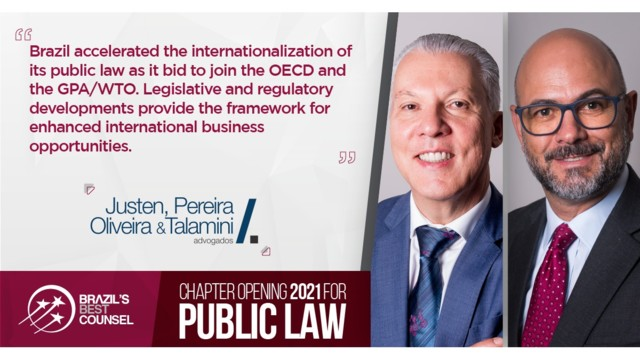 Brazil's Best Counsel 2021 - Chapter Opening: Public Law